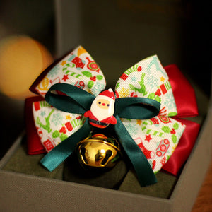 Christmas Santa Claus Bow