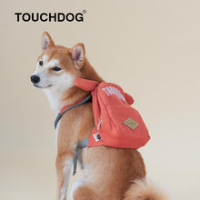 Load image into Gallery viewer, Cute-backpacks-for-dogs-to-wear-dog-wearing-backpack-backpack-for-french-bulldog-to-wear