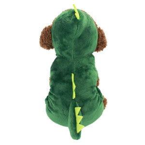 Dinosaur dog costume for Halloween