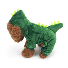 Load image into Gallery viewer, Dinosaur dog costume for Halloween