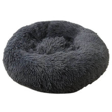 Load image into Gallery viewer, soft calming dog bed soothing dog bed dark color