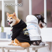 Load image into Gallery viewer, Touchdog-dog-hoodie-french-bulldog-hoodies-dog-sweatshirts-dog-hoodie-dog-coat-with-hood