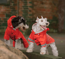 Load image into Gallery viewer, Touchdog-dog-raincoat-Dog-raincoat-with-hood-dog-rain-jacket-small-dog-raincoat-small-dog-raincoat