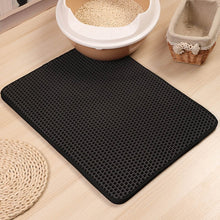 Load image into Gallery viewer, cat litter mat black