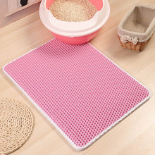 Load image into Gallery viewer, cat litter mat pink