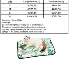Load image into Gallery viewer, 3D Print Summer Ice Silk Pet Dog Cooling Mat For Cats Dogs Dimensions