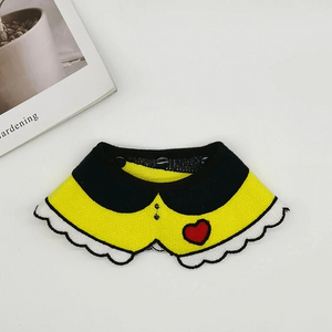 yellow dog Bandanas cute dog collar