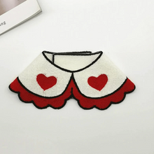 Load image into Gallery viewer, white heart dog Bandanas cute dog collar
