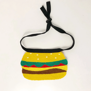 cute dog/cat bandana burger