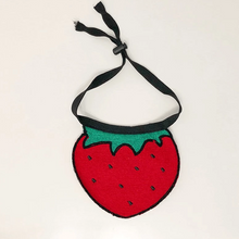 Load image into Gallery viewer, cute dog/cat bandana strawberry