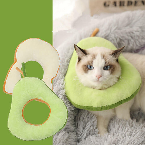 avocado-soft-Elizabethan-Collar-for-cat-and-dog-pet-cone-toast-cute-collar-for-cat-and-small-dog