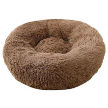 Load image into Gallery viewer, calming dog bed soothing dog bed brown color