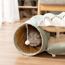 Load image into Gallery viewer, cat tunnel toy cat tunnel bed