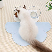 Load image into Gallery viewer, cloud-shaped-dog-bowl-mat-cat-bowl-mat-and-anti-vomiting-cat-bowl