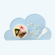 Load image into Gallery viewer, cloud-shaped-dog-bowl-mat-cat-bowl-mat-pet-food-mat-dog-mat-for-food-blue-colour