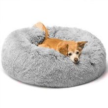 Load image into Gallery viewer, claming dog bed marshmallow cat bed soft plush bed