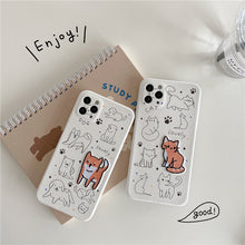 Load image into Gallery viewer, iPhone Case Embroidered Cat