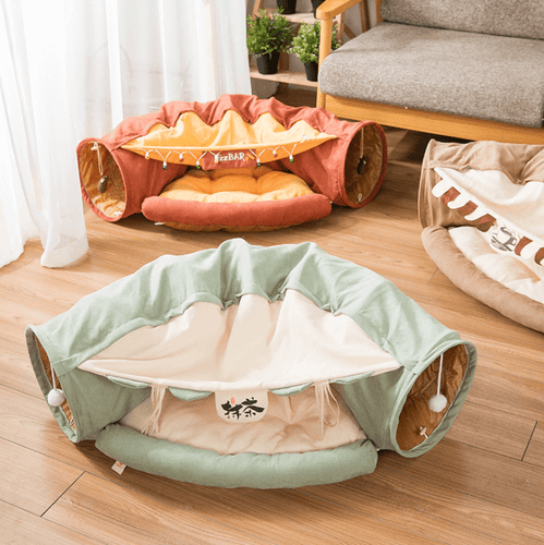 cat tunnel toy cat tunnel bed