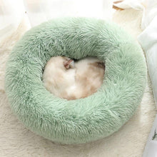 Load image into Gallery viewer, calming dog bed soothing bed green