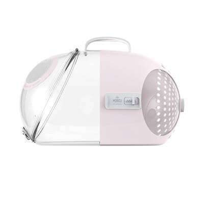 Cat carrier capsular style pink