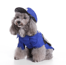 Load image into Gallery viewer, Police Officer Dog Costume