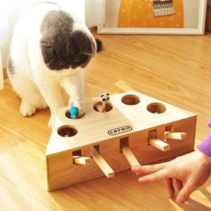 Carno Whack-a-Mole Cat Toy