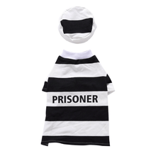 Load image into Gallery viewer, Prisoner Dog Costume for halloween
