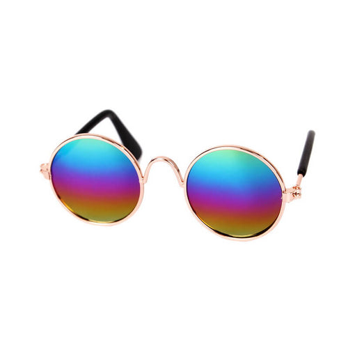 sunglasses for cat colorful