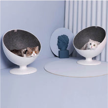 Load image into Gallery viewer, furrytail cat chair bed cat ball chair