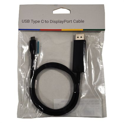 Google Official USB Type-C To Dispaly Port Adapter ( Black )