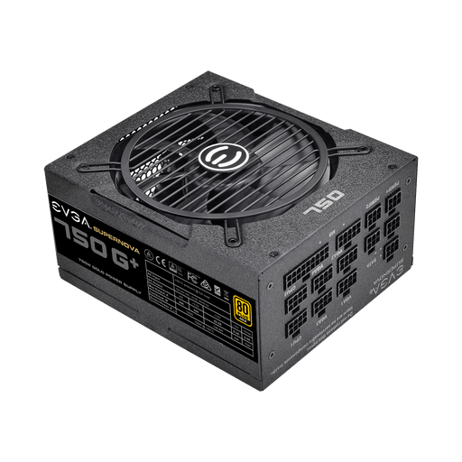 EVGA 750W GOLD ATX Fully Modular Power Supply SUPERNOVA G1+ 120-GP-0750-X3