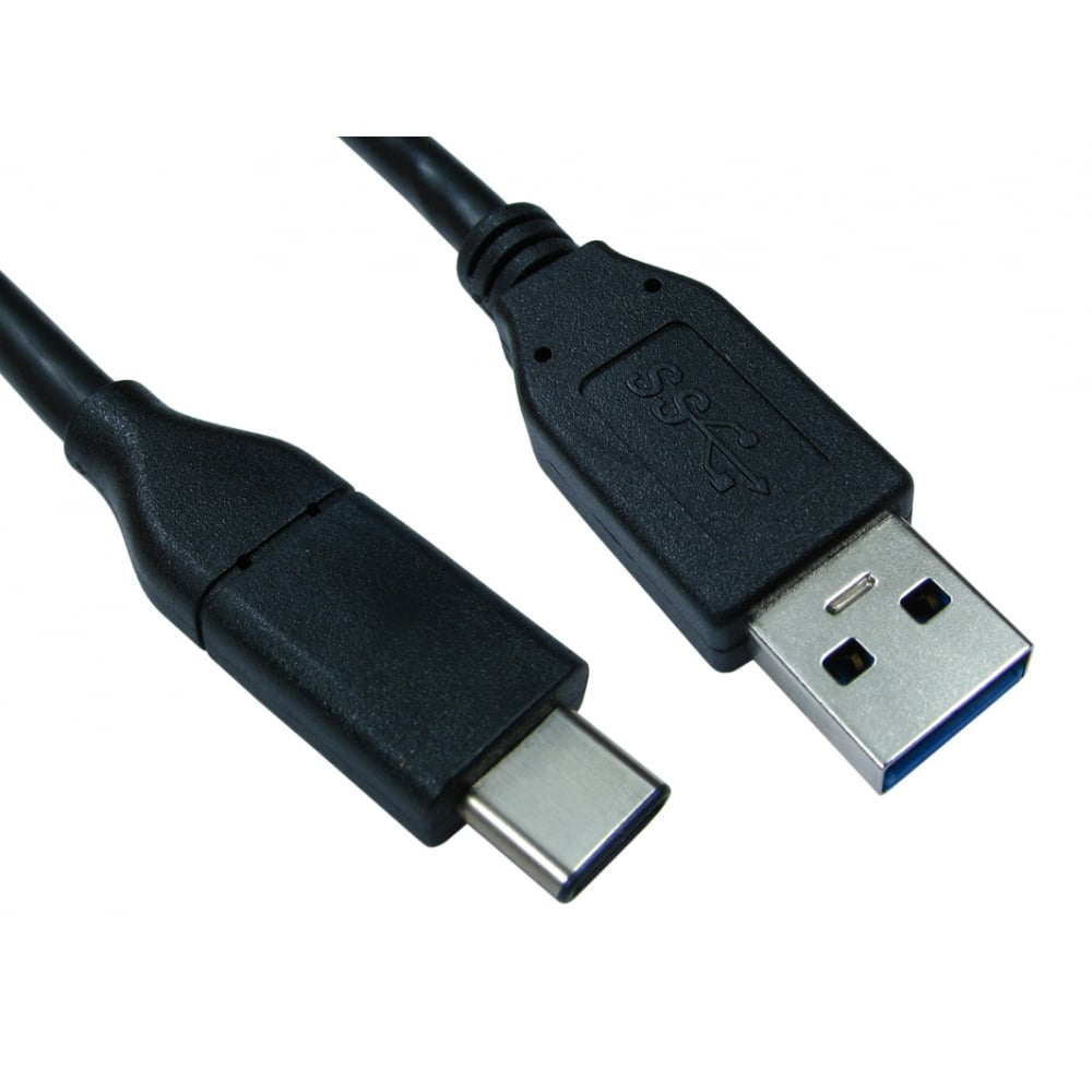 1m USB 3.1 Type C (M) to Type A (M) Cable
