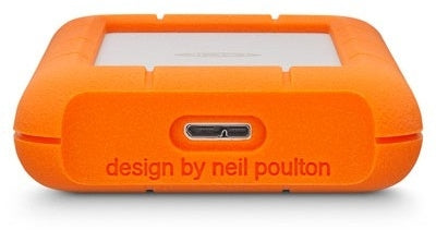 LaCie Rugged Mini 4 TB External HDD - USB 3.0 - 5,400 Rpm