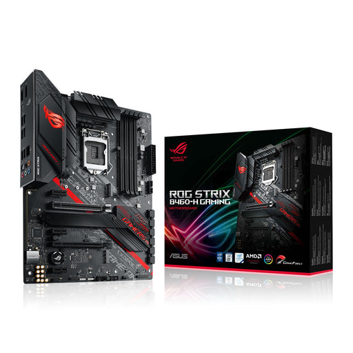 Asus ROG STRIX B460-H GAMING, Intel B460, 1200, ATX, 4 DDR4, XFire, HDMI, DP, M.2