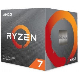 AMD Ryzen 7 3700X Gen3 8 Core AM4 CPU/Processor With Wraith Prism RGB Cooler