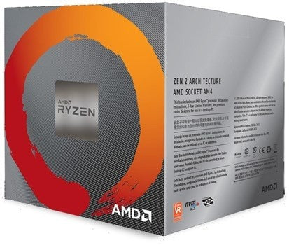 AMD Ryzen 7 3800X Gen3 8 Core AM4 CPU/Processor With Wraith Prism RGB Cooler