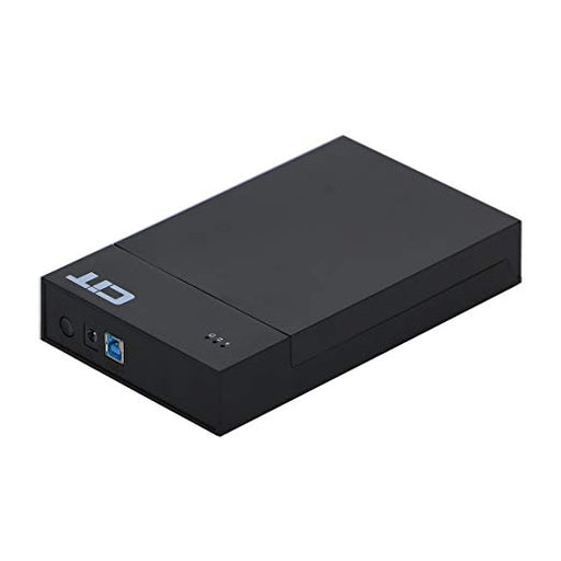 CiT USB 3.0 To SATA External Hard Drive Enclosure Case For 3.5 Inch SATA HDD (Maximum Support 4TB)