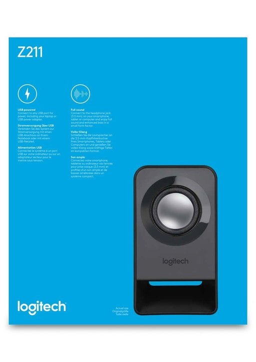 Logitech Z211 Compact USB-Powered Speaker