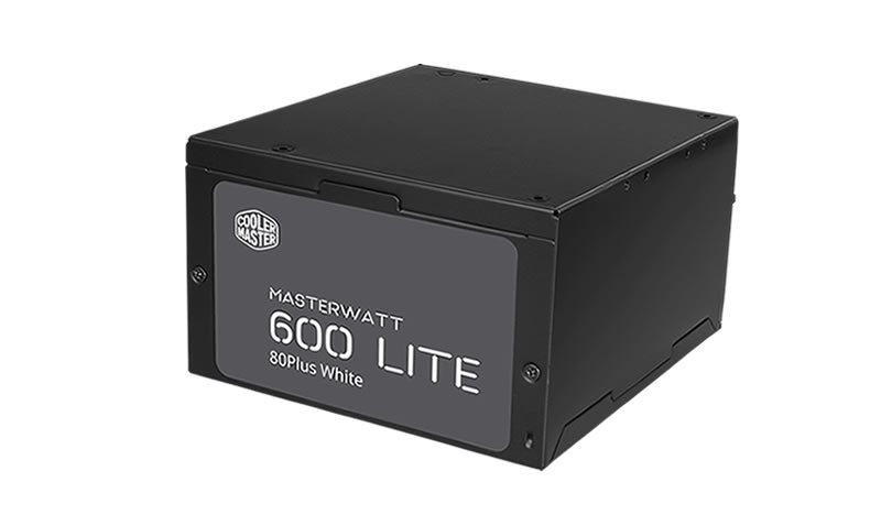 Cooler Master MasterWatt Lite 600 ErP 2013 Certified Power Supply