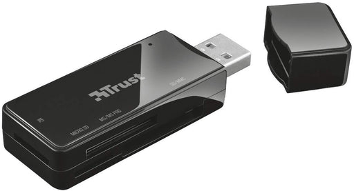 Trust Nanga USB 2.0 Card Reader - Black