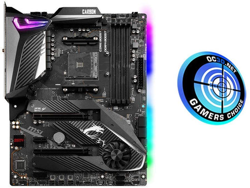 MSI MPG X570 GAMING PRO CARBON WIFI Motherboard ATX, AM4, DDR4, LAN and 802.11AX WIFI, USB 3.2 Gen2, Type-C, M.2, RGB Mystic Light, HDMI, AMD RYZEN 2nd and 3rd Gen