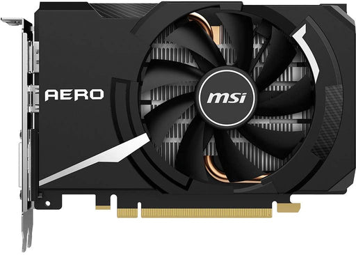 MSI GeForce GTX 1650 Super Aero ITX OC Graphics Card '4 GB, GDDR6, 1740 MHz, 1 x DisplayPort, 1 x HDMI, 1 x DL-DVI-D, AERO ITX Cooling'