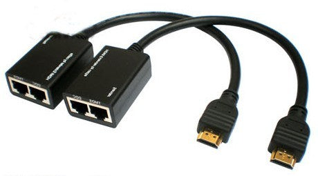 Epsilon Hdmi Extender By Cat5e/6 Cable Support