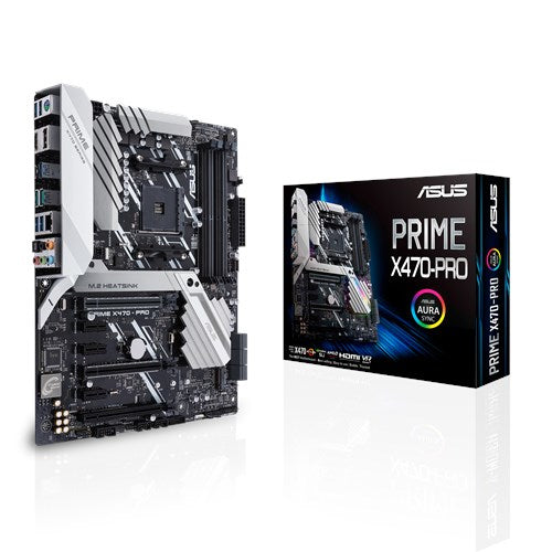 ASUS PRIME AMD Ryzen X470-PRO AM4 ATX Motherboard