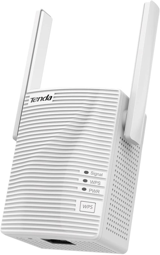 Tenda A18 AC1200 Dual Band Universal WiFi Repeater, Broadband/Wi-Fi Extender, Wi-Fi Booster/Hotspot, with 1 Ethernet Port, works with all broadband providers, UK Plug