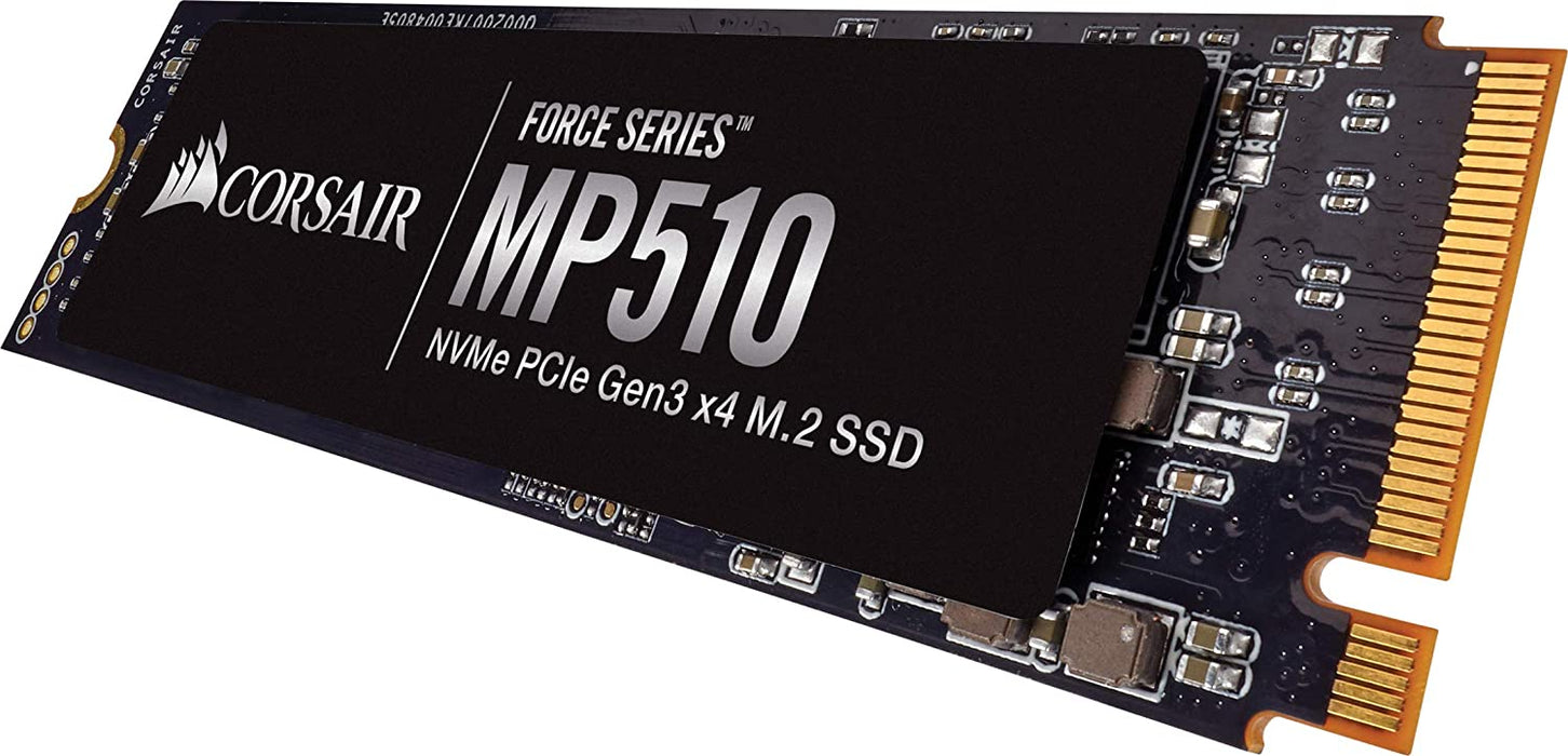 Corsair 960GB Force Series MP510 B, M.2 NVMe SSD, M.2 2280, PCIe, 3D NAND, R/W 3480/3000 MB/s