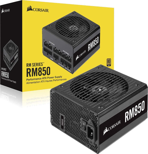 Corsair 850W RM Series RM850 PSU, Rifle Bearing Fan, Fully Modular, 80+ Gold