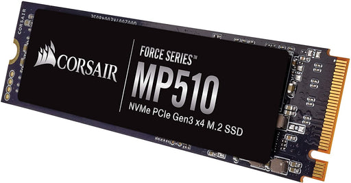 Corsair 240GB Force Series MP510 M.2 NVMe SSD, M.2 2280, PCIe, 3D NAND, R/W 3100/1050 MB/s, 180K/240K IOPS