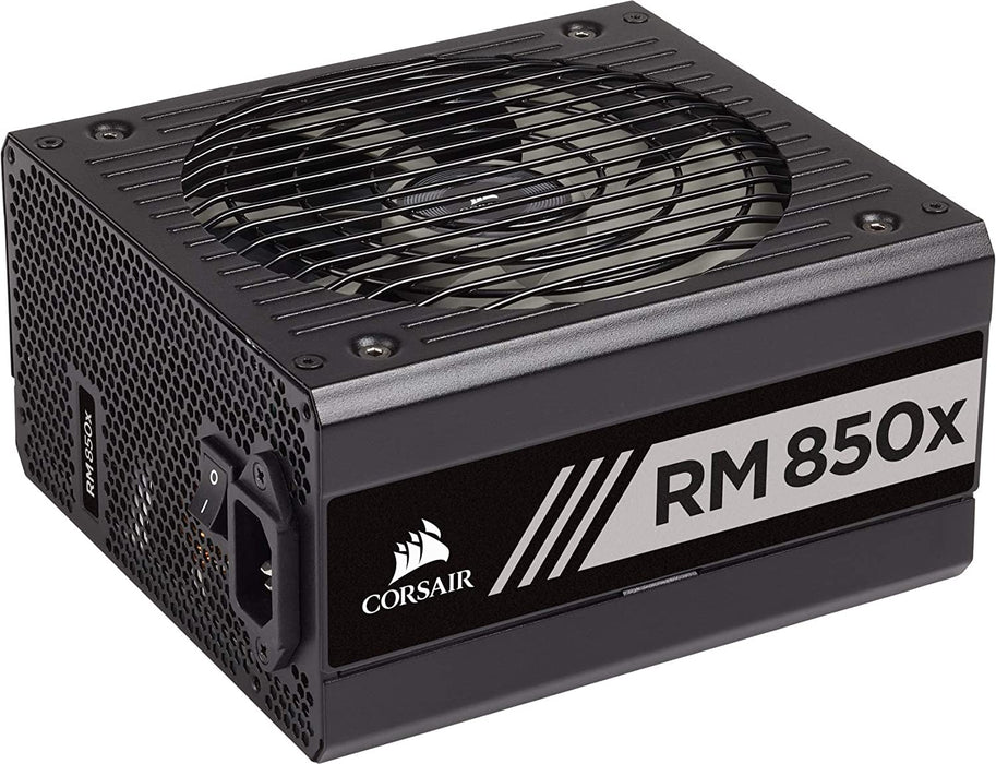 Corsair 850W RMx Series RM850X PSU, Rifle Bearing Fan, Fully Modular, 80+ Gold