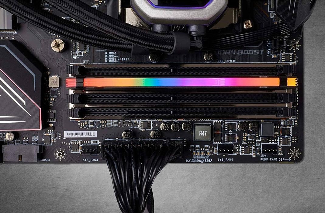 Corsair Vengeance RGB Pro 16GB, DDR4, 3200MHz (PC4-25600), CL16, XMP 2.0, Ryzen Optimized, DIMM Memory